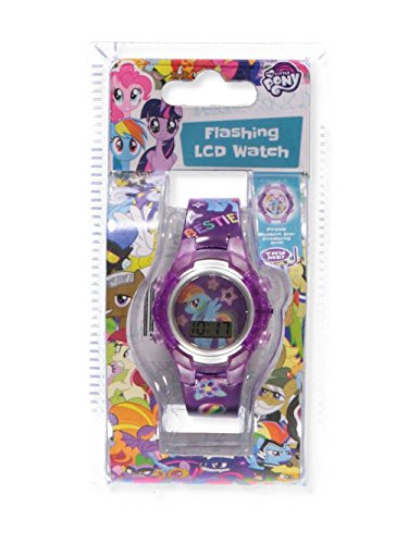 Disney My Little Pony Flashing LCD Watch - colors as shown, one size - Pony Watch