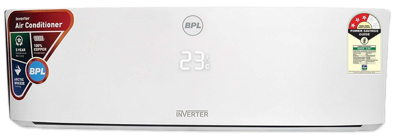 BPL 1 5 Ton 3 Star Inverter Split AC (Copper, A18KI3C8A, White)