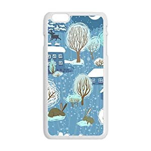 The Small World Hight Quality Plastic Case for Iphone 6plus