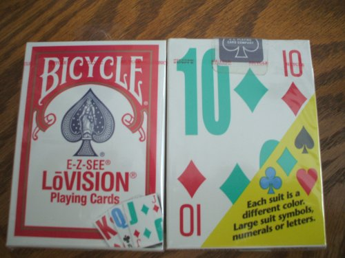 Bicycle Lo Vision Playing Cards (Pack of (Large Print Playing Cards)