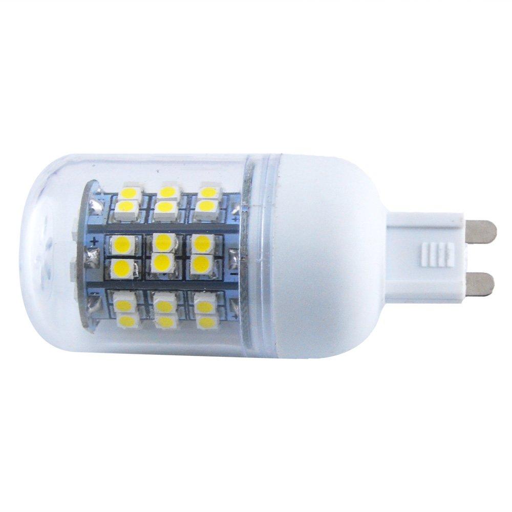 G9 THG blanco c/¨/¢lido equivalente hal/¨/®geno 40W 48 SMD 3528 LED 280LM luz del ma/¨/ªz de la l/¨/¢mpara del proyector para Home Office Store Sala de Exposiciones
