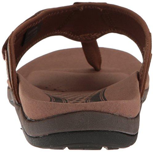 Propet Men's Bandon Flip Flop Brown 5oEzmmv7