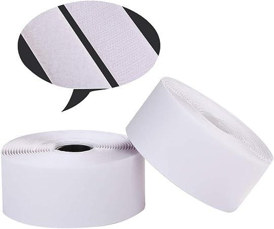 "4/""x10FT Hook /& Loop Self Adhesive Heavy Duty Tape Industrial Sticky Fastener USA"
