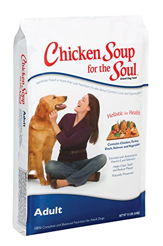 Chicken Soup for the Soul Adult Dog Food - Chicken, Turkey & Brown Rice Recipe, 30 lb from Chicken Soup for the Soul