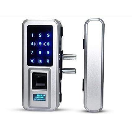 Z@SS Huella Digital Y Pantalla Táctil Cerradura De Puerta Elegante, Cerraduras De Código