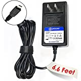 "T-Power® ((6.6 ft Long Cable)) High 5V-3A Quick Charger for Lenovo IdeaTab Lynx K3 11.6"" Tablet 2, 8, 10 HD+; K3011 K3011W IdeaTab A1000 A3000 S6000 P/N: 59349664 59343251 AC DC Adapter Replacement switching power supply USB Data Charge Sync Cable"