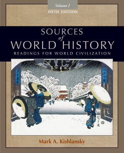 Sources of World History, Volume I