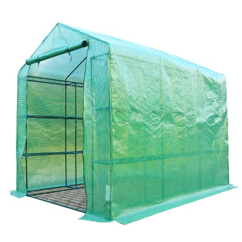 Portable Greenhouse For Patio : Outsunny  outdoor portable walk in greenhouse