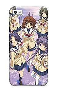 LJF phone case Iphone 5c Cover Case - Eco-friendly Packaging(clannad)