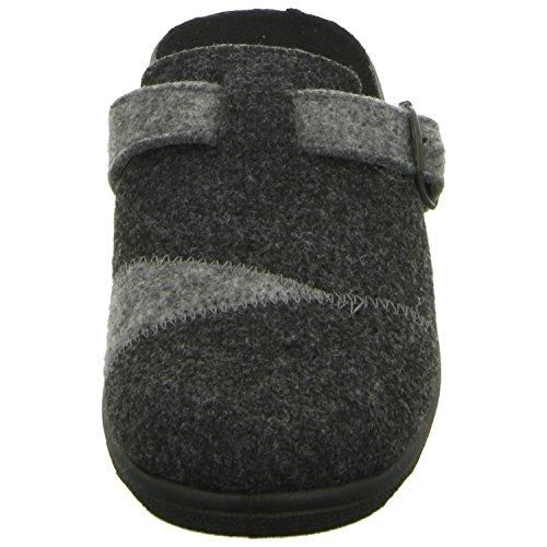 Intermax BETTY-2-AB Damen Pantolette Kaltfutter Grau (Grau)