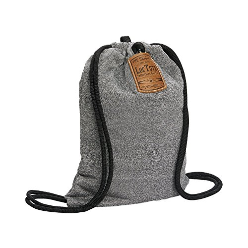 LOCTOTE Flak Sack - The Original Theft-Resistant Drawstring Backpack | Anti-theft | Theft-Proof Travel Backpack | Lockable | Slash-Resistant by LOCTOTE