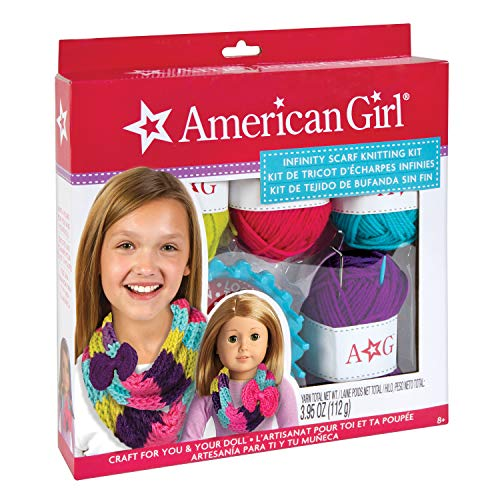 Knitting Kits For Kids (American Girl Infinity Scarf Knitting)