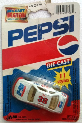 DIET PEPSI Diecast NASCAR #38 Racing PETER COMBA Race Car -