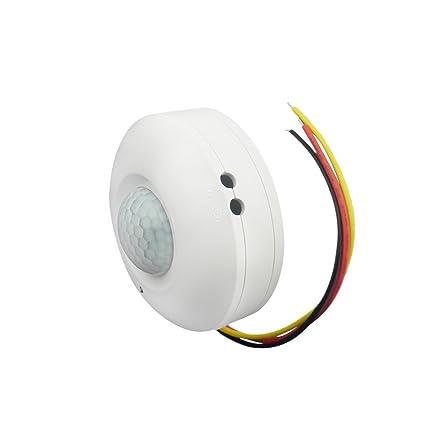 BESTOMZ Interruptor de Luz de Sensor de Movimiento de Techo por Infrarrojo de Cuerpo de Humano