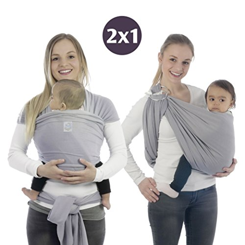 Buy Cheap Baby Wrap Carrier and Ring Sling In One – Baby Sling and Wrap - Comfortable Ring Sling B...