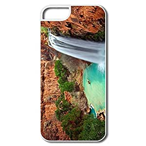 IPhone 5 5s Case Shell Arizona Waterfalls - Custom Cool IPhone 5 5s Shell For Her