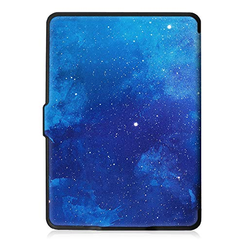 Fintie Slimshell Case for Kindle Paperwhite - Fits All Paperwhite Generations Prior to 2018 (Not Fit All-New Paperwhite 10th Gen), Starry Sky