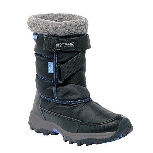 Regatta Snowcadet II - Bottes de neige - Enfant unisexe (31 EU) (Gris foncé)
