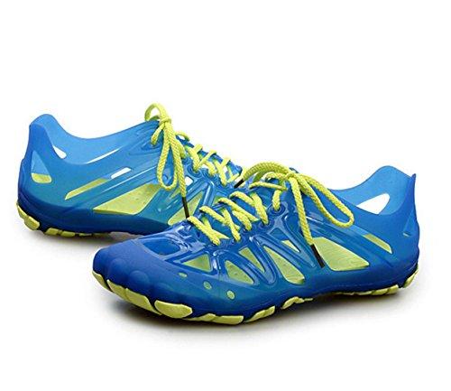 WZG El estudiante nuevas sandalias casuales Baotou zapatos agujero sandalias de los hombres respirables de los deportes zapatos transpirables Random delivery
