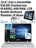 ASUS Q304UA 13.3-inch 2-in-1 Touchscreen Full HD