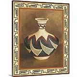 Chariklia Zarris Premium Thick-Wrap Canvas Wall Art Print entitled Southwest Pottery II 20''x24''