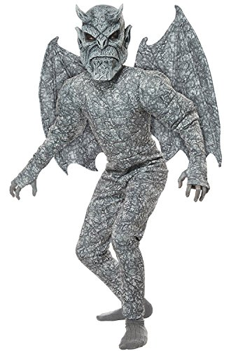 Kids Ghastly Gargoyle Costume size Medium 8-10