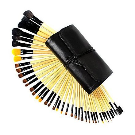 40 Pcs Professional Wool Makeup Brush Set(Two colors may be random) hot sale