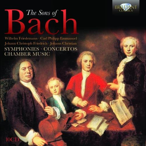 Sons of Bach: Symphonies Concertos Chamber Music