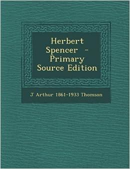Book Herbert Spencer