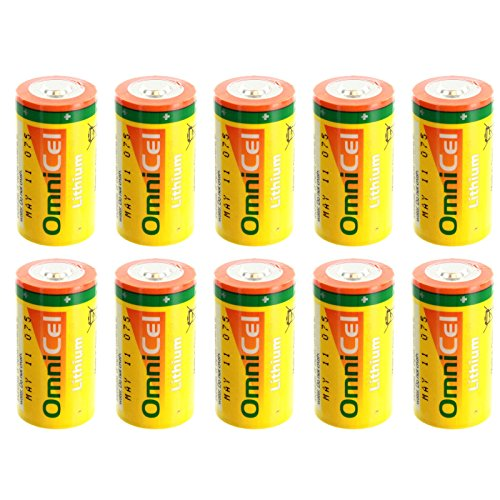 10x OmniCel ER26500HD 3.6V Sz C Lithium Standard Terminal Battery Backup by Exell Battery