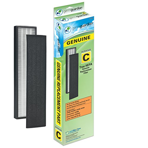 GermGuardian FLT5000 GENUINE True HEPA Replacement Filter C for AC5000 Series Air Purifiers (Germ Guardian C Filter compare prices)