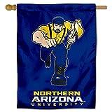 NAU Lumberjacks House Flag Banner