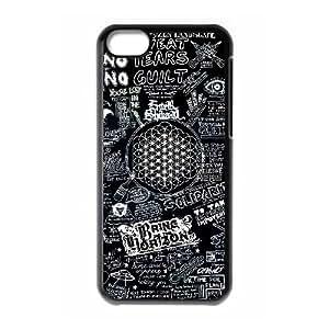 iPod Touch 6 funda Negro [PC dura de la funda + HD Pattern] Quiero la Serie Horizon® [Numeración: FHJSFOHSK6621]