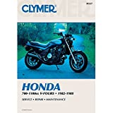 Clymer Repair Manual for Honda VF700-1100 V-Fours 82-88