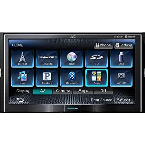 Amazon Com Jvc Double Din In Dash 7 Quot Lcd Touchscreen Dvd