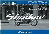 2006 Honda Shadow Spirit 750 Motorcycle Owner's Manual Original VT750DC