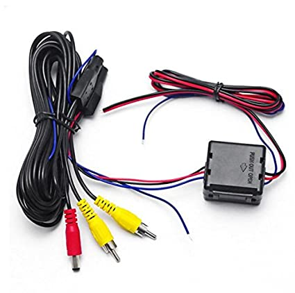 Amazon.com: 1PC Car Rear View Camera Video & Power Wires ... on