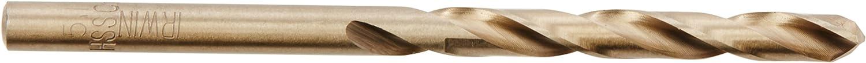 -Pack of 10 Din 388, 5.1 x 86-Millimetre, Quadro Pack Set of 10 Pieces IRWIN 10502528 HSS Cobalt Drill Bit