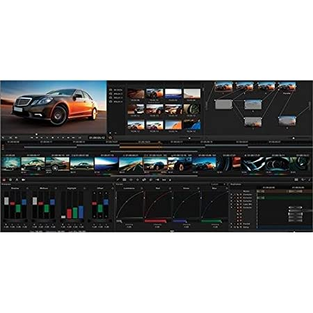 Blackmagic Design DaVinci Resolve Studio Media Drives at amazon