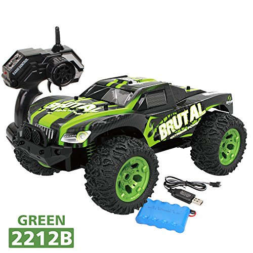 1:12 2.4G Remote Control 2WD Off-Road Monster Truck,Outsta High Speed RTR RC Car Toy Vehicle Toy Electric Cars Truck-Best Gift for Boys (Racing 40 Series Monster Truck)
