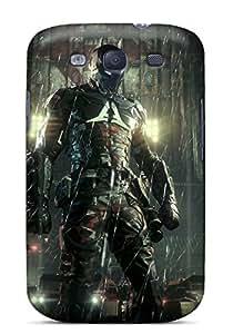 OOLLA16002MJSUU Tpu Phone Case With Fashionable Look For Galaxy S3 - Batman Arkham Knight