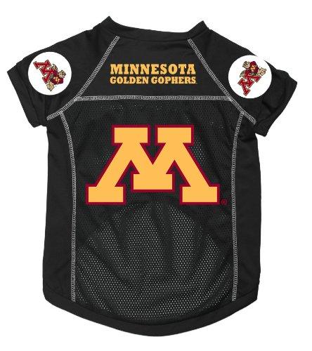(Dog Zone NCAA Pet Football Jersey, XX-Small, University of Minnesota)