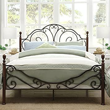 Amazon.com: Metro Shop TRIBECCA HOME LeAnn Graceful Scroll Bronze ...