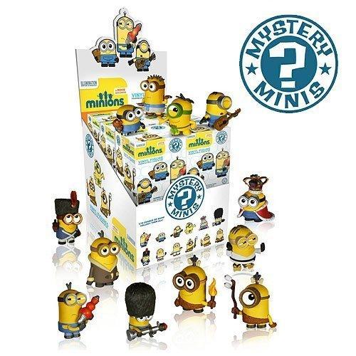 Minions Movie Mystery Minis Mini-Figure Display Box