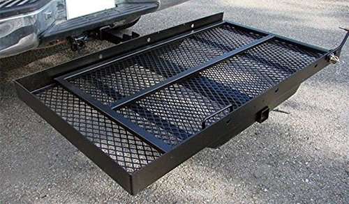 Mobility Carrier Wheelchair Scooter Rack Disability Medical Ramp Hitch Mount Steel New by T-Foot (Image #9)