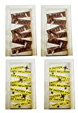 Black Duck Brand Set of 6 Halloween Door and Window Covers! Caution Tape - Boarded Up Window and Door Cover Decorations! (6, Set of All Styles)