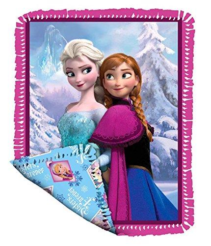 Disney's Frozen NoSew Sisterly Love Fleece Blanket Kit