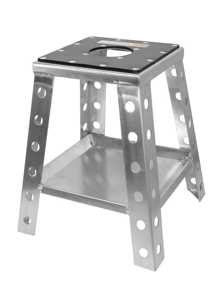 Motorsport Products STAND-5000 Silver Standard Aluminum Moto Stand