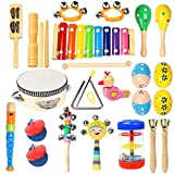 Toddler Musical Instruments Ehome 15 Types 22pcs