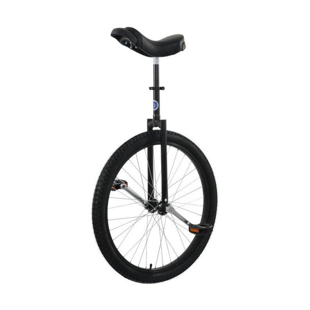 Club 26'' Road Unicycle - Black by Unicycle.com
